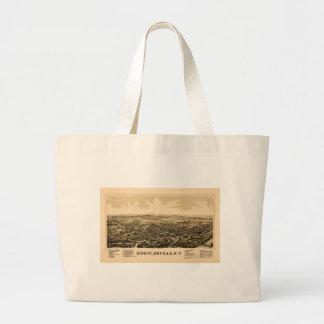 Bolso De Tela Gigante schuylerville1889