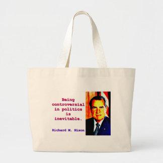 Bolso De Tela Gigante Siendo polémico en la política - Richard Nixon .jp