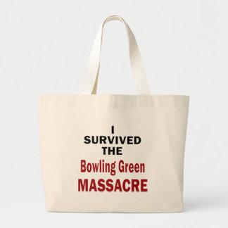 Bolso De Tela Gigante Superviviente de la masacre de Bowling Green