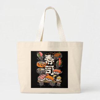 Bolso De Tela Gigante Sushi
