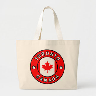 Bolso De Tela Gigante Toronto Canadá