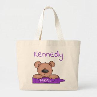 Bolso De Tela Gigante Tote de Teddybear de Kennedy