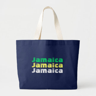 Bolso De Tela Gigante Tote del jumbo de Jamaica