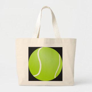 Bolso De Tela Gigante Tote del tenis