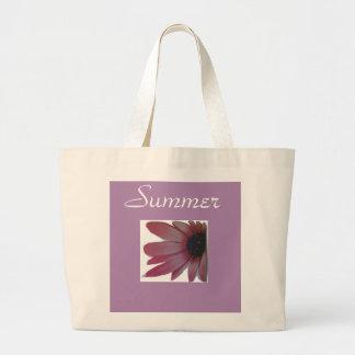 Bolso De Tela Gigante Tote floral del verano para las mujeres