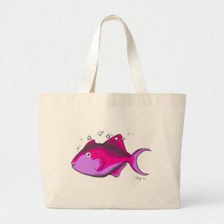 Bolso De Tela Gigante ¡Triggerfish!