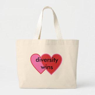 Bolso De Tela Gigante triunfos de la diversidad
