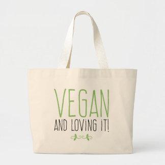Bolso De Tela Gigante Vegan and loving it!