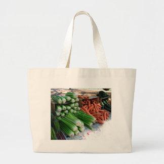 Bolso De Tela Gigante verduras