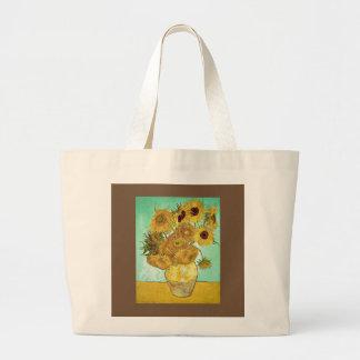 Bolso De Tela Gigante Vincent van Gogh - tote de los girasoles