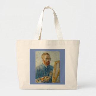 Bolso De Tela Gigante Vincent van Gogh - tote del autorretrato del