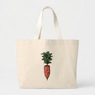 Bolso De Tela Gigante Zanahoria