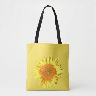 Bolso De Tela Girasol amarillo