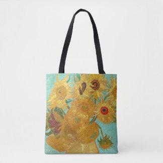 Bolso De Tela Girasoles de Van Gogh