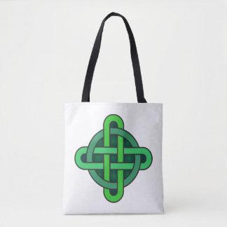 Bolso De Tela gre irlandés pagano del nudo del símbolo antiguo