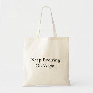 Bolso De Tela Guarde el desarrollarse, vaya Vegan.