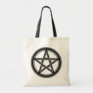 Bolso De Tela Hail Satanás bag - 666 Cult Pentagram muerto -