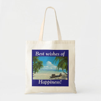 Bolso De Tela Happiness
