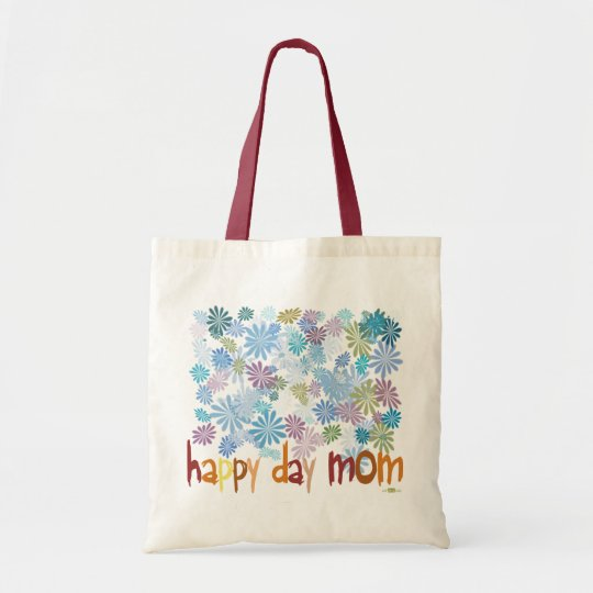 Bolso De Tela Happy Day Mom
