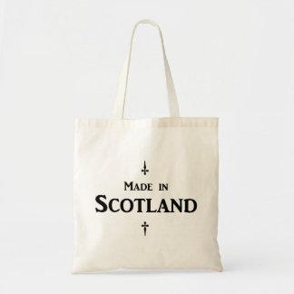 """Bolso De Tela """"Hecho en tote básico de Escocia"""""""