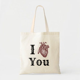 Bolso De Tela I corazón usted
