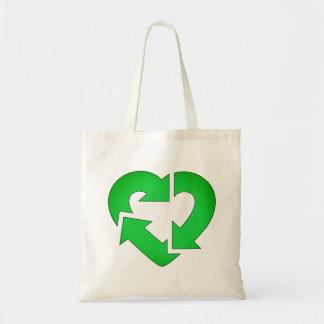 Bolso De Tela I el corazón recicla