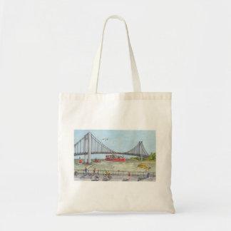 Bolso De Tela Igualación del paseo por el puente de Verrazano