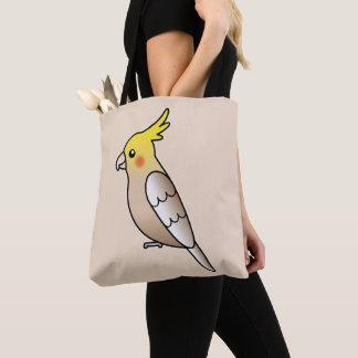 Bolso De Tela Ilustracion lindo del pájaro del dibujo animado