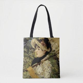 Bolso De Tela Jeanne: Primavera 1881 por Manet