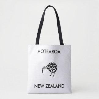 Bolso De Tela kiwi 1 de Nueva Zelanda del aotearoa