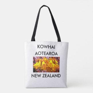 Bolso De Tela kowhai 2 de Nueva Zelanda del aotearoa