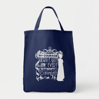 Bolso De Tela La cita de Jane Austen mi valor sube siempre P&P
