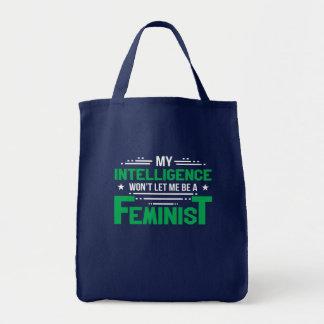 Bolso De Tela La inteligencia anti del feminismo no dejará a la