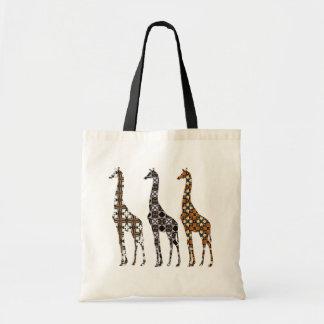 Bolso De Tela La jirafa de Florilla