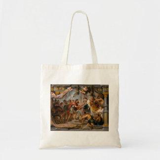 Bolso De Tela La reunión de Abraham y del arte de Melchizedek