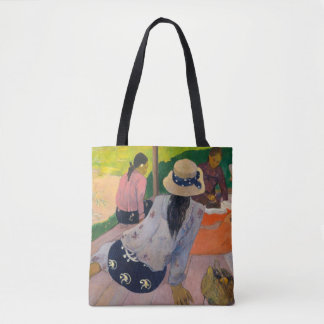 Bolso De Tela La siesta de las mujeres Tahití de Paul Gauguin