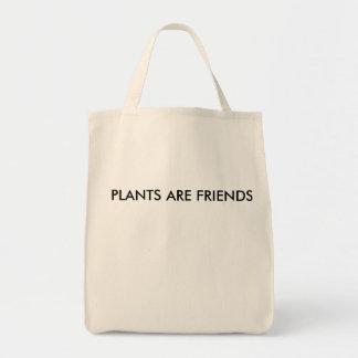 Bolso De Tela Las plantas son tote de los amigos