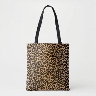 Bolso De Tela Leopardo