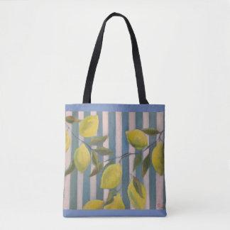 Bolso De Tela Limones