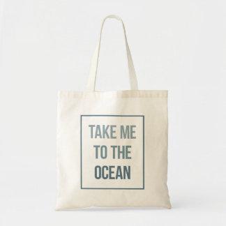 Bolso De Tela Lléveme al océano