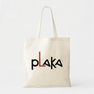 Bolso De Tela Logotipo de Plaka