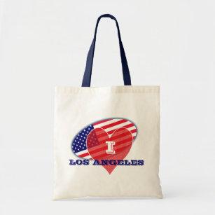 8362d61ca Bolso De Tela Los E.E.U.U. señalan el amor Los Ángeles de I por