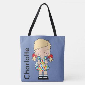 Bolso De Tela Los regalos personalizados de Charlotte