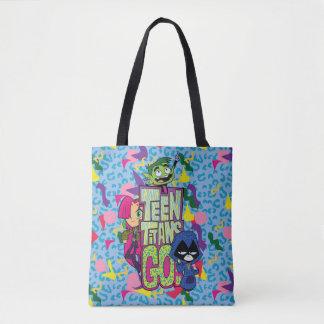 """Bolso De Tela ¡Los titanes adolescentes van! De los """"logotipo"""