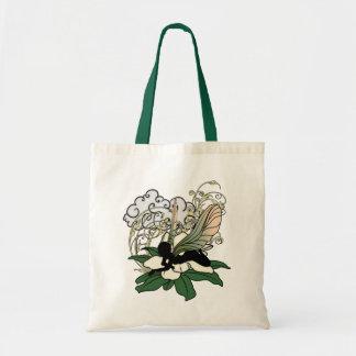 Bolso De Tela Magnolia de la hada de la sombra