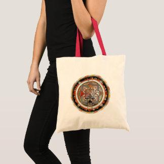 Bolso De Tela Mandala de Kalachakra
