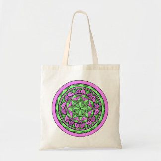 Bolso De Tela Mandala del añil