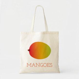 Bolso De Tela Mangos