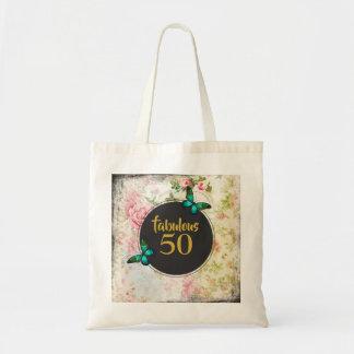 Bolso De Tela Mariposa verde 50 fabulosos en el collage del