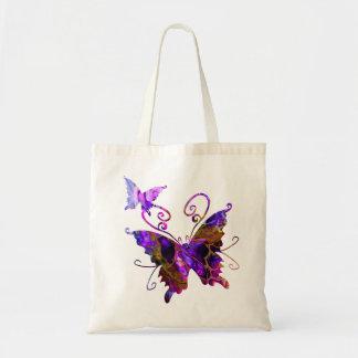 Bolso De Tela Mariposas de la fantasía